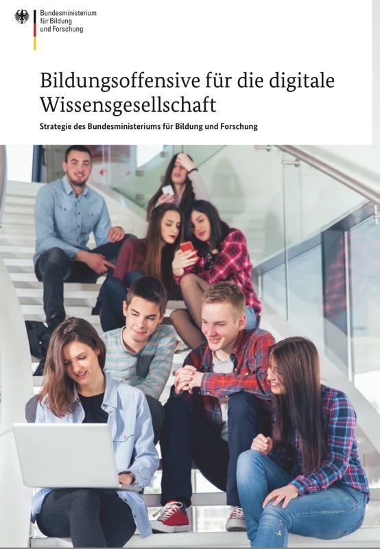 Titelblatt des Dokuments Strategie für die digitale Wissensgesellschaft